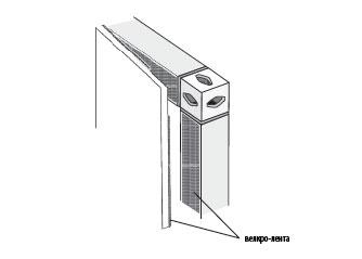 Велкро-лента, если панели жесткие